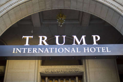 DC restaurant owners sue over Trump hotel, alleging unfair competition