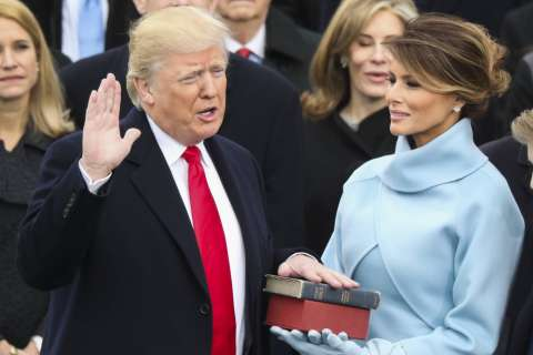 Trump's oath-of-office Bible is now on display at new DC museum