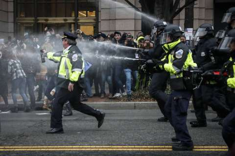 Charges dropped against more journalists arrested after inauguration rioting