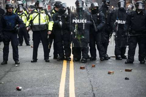 Police: Videos led to arrest of inaugural rioter