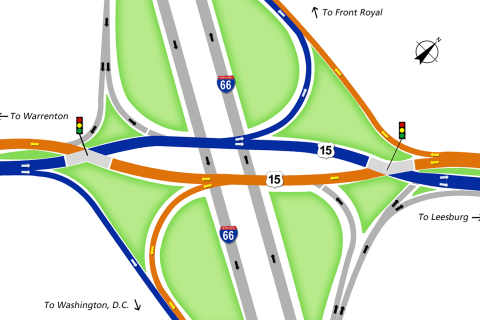 New US 15 interchange set to open Saturday in Haymarket