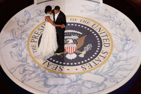 Photos: Presidential inaugural balls through the years