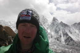 Sean Burch said he endured severe winds, high altitudes, snow, trenchfoot, frostbite, and severe hyperthermia. (Courtesy Sean Burch)