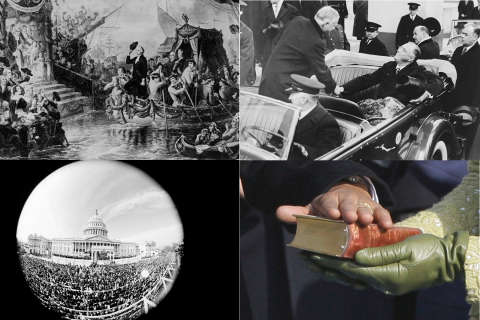 Photos: Inaugurations through the years
