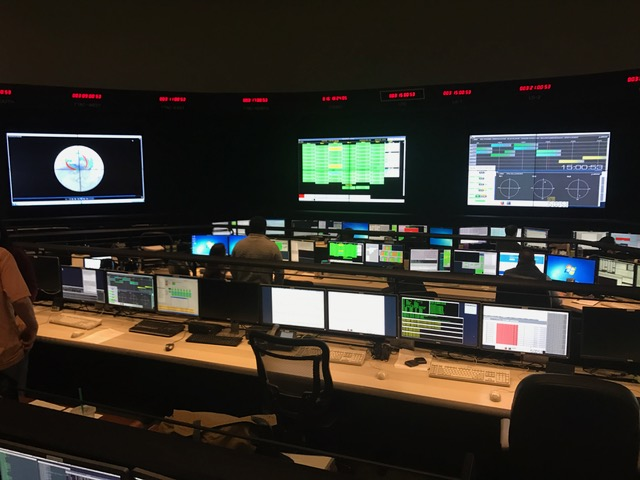 WTOP got an exclusive tour of the control room of Iridium, the Va. company set to sent 10 next-generation satellites into orbit aboard Sunday's SpaceX launch. (WTOP/Neal Augenstein)