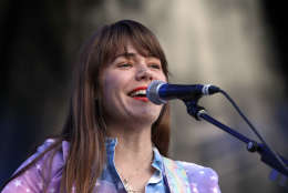Jenny Lewis performs during Music Midtown 2015 at Piedmont Park on Friday, September 18, 2015, in Atlanta. (Photo by Robb D. Cohen/Invision/AP)