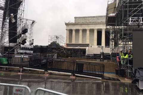 Closings, security for Thursday's inaugural concerts