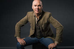 """Michael Keaton poses for a portrait during press day for """"Spotlight"""" at The Four Seasons on Wednesday, Nov. 4, 2015, in Los Angeles. Keaton portrays Walter """"Robby"""" Robinson in the movie which opens in U.S. theaters on Nov. 6, 2015.  (Photo by Casey Curry/Invision/AP)"""