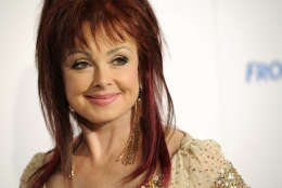"""FILE - In this Oct. 6, 2012, file photo, Naomi Judd poses at the Hero Dog Awards at the Beverly Hilton Hotel in Beverly Hills, Calif. Judd told """"Good Morning America"""" in an interview broadcast Tuesday, Dec. 6, 2016, that she has been diagnosed with severe depression and spent time in psychiatric hospitals. (Photo by Chris Pizzello/Invision/AP, File)"""