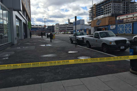 Shooting victim found outside Nats Park