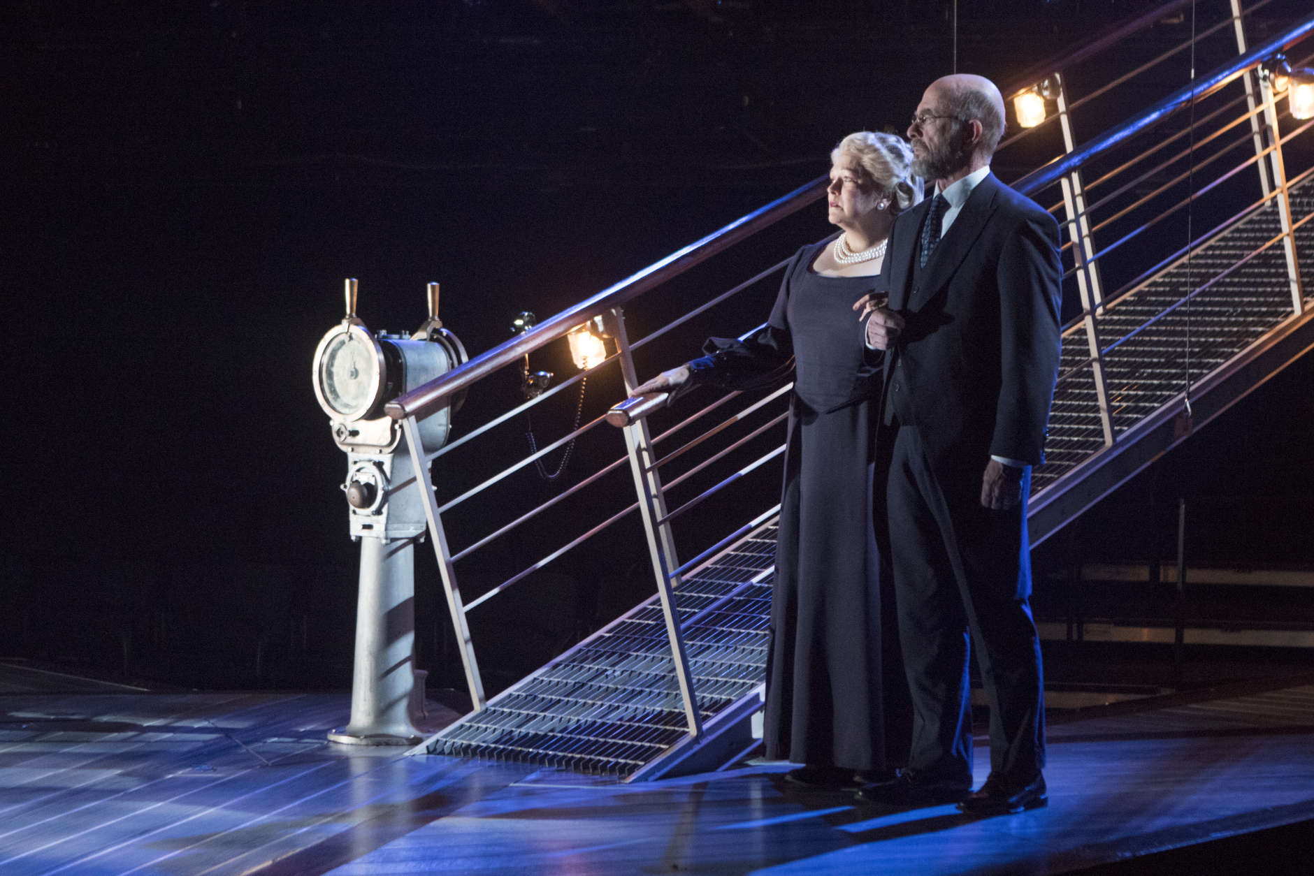 showtunes right ahead u0027titanic u0027 musical hits signature theatre