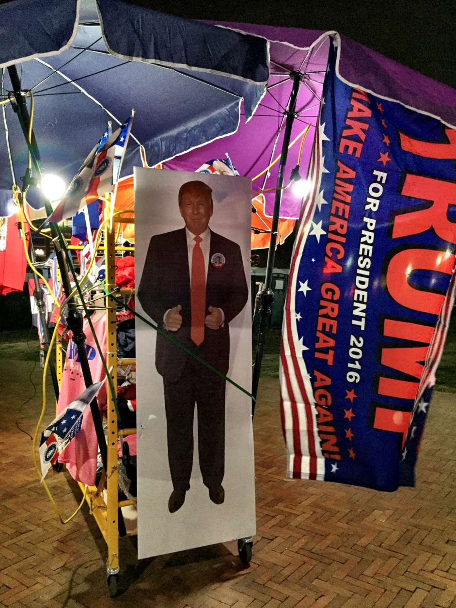 """The inaugural theme, according to the Trump team, is """"Make America Great Again."""" (Courtesy Cami McCormick)"""