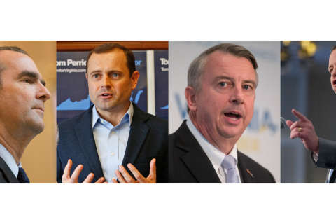 Campaigning underway in race for Va. governor