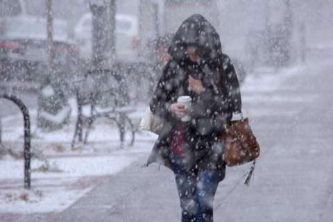 Wintry weather is back in the forecast for the weekend