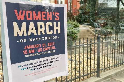 Many unknowns surround post-inaugural Women's March