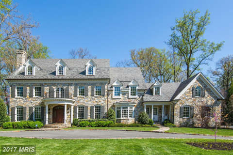 Most expensive DC-area homes sold in January 2017