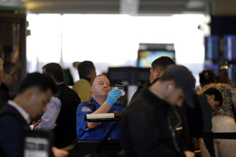 TSA testing Precheck signup right at BWI Marshall
