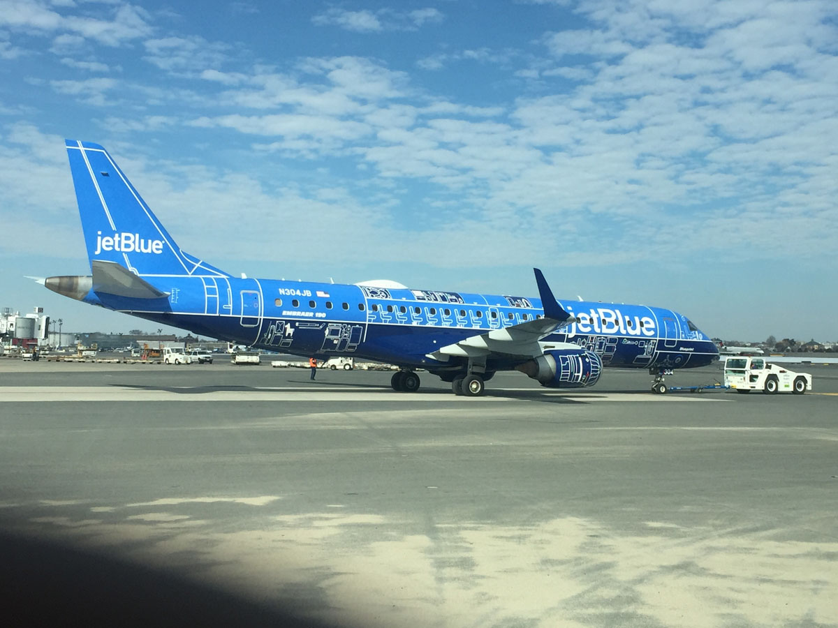 Jetblue Planes New Look To Make Appearance On Reagan
