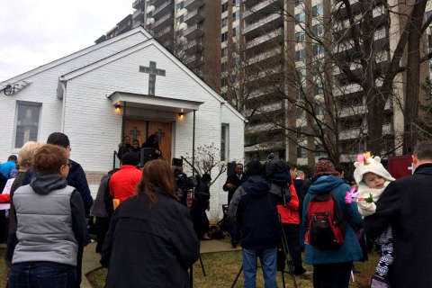 Members of Bethesda church rally to save historic burial site