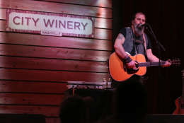 Artist Steve Earle performs at his January residency at City Winery on Thursday, Jan. 12, 2017 in Nashville, Tenn. (Photo by Laura Roberts/Invision/AP)