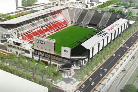 DC United announces first home game date at Audi Field