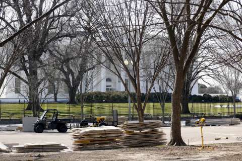 Last White House inauguration closures set to be lifted