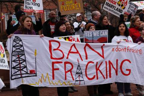 Fracking opponents want statewide ban in Md.