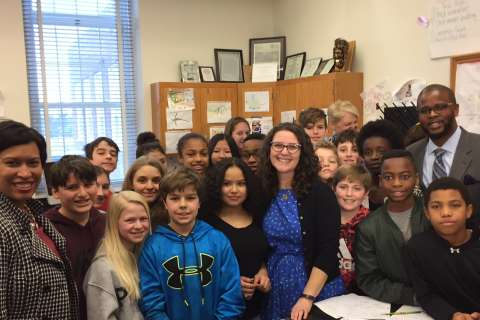 DC teacher of the year makes science 'come alive' for students