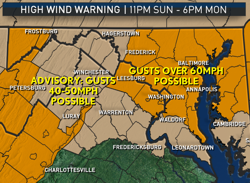 (Warnings: National Weather Service/ Graphics: Storm Team 4)