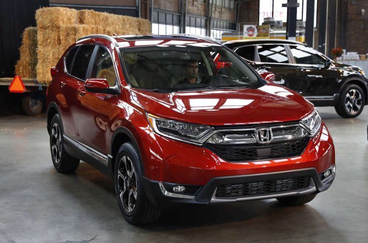 The 2017 Honda Cr V Was Named Best Value Compact Suv By U S News And World Report