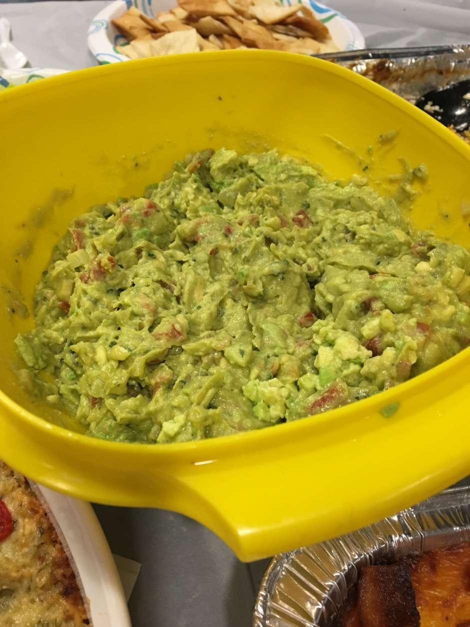 Judy Taub's guacamole (WTOP/Hanna Choi)