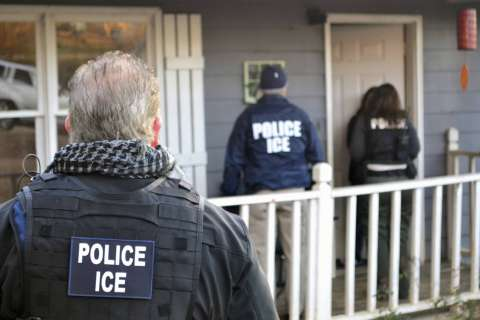 52 arrested in DC area after nationwide ICE anti-gang operation