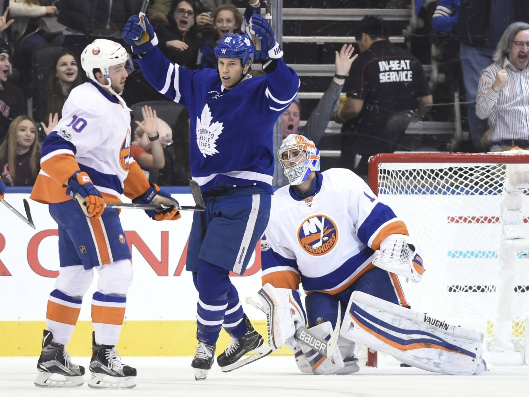 TORONTO (AP) — A loss would have knocked the Toronto Maple Leafs out of  playoff position. Instead 2d0003eb6
