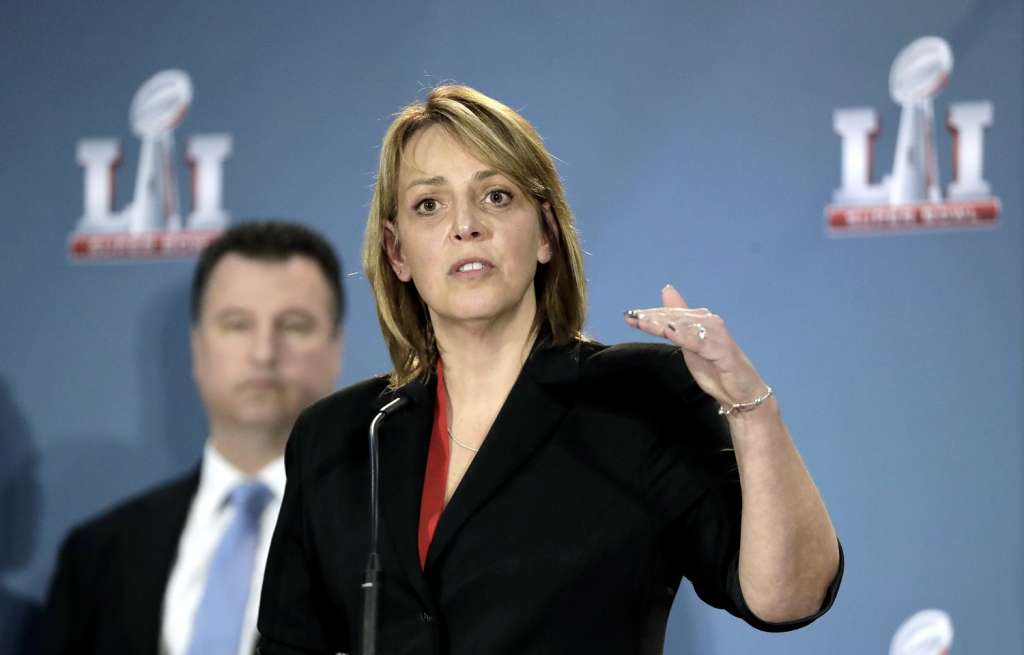 Former D.C. Chief of Police Cathy Lanier is now head of NFL security. (AP/David J. Phillip)