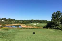 Laurel Hill Golf Club provides a scenic, high-end public course on historic land. (WTOP/Noah Frank)