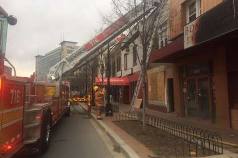 Fire damages Silver Spring restaurant