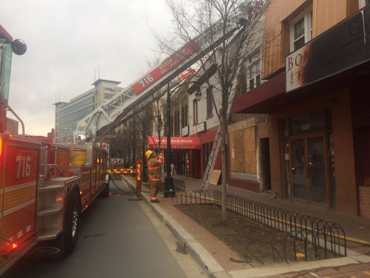 Fire Damages Silver Spring Restaurant Wtop