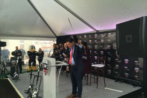 With ground broken, United all in for Audi Field in June 2018