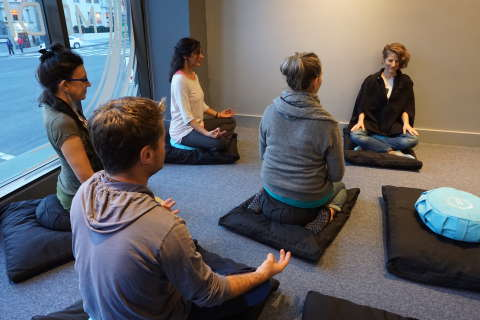 The next yoga? Meditation studios multiply in DC area