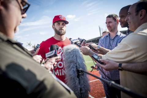 Bryce Harper is back, ready to get going