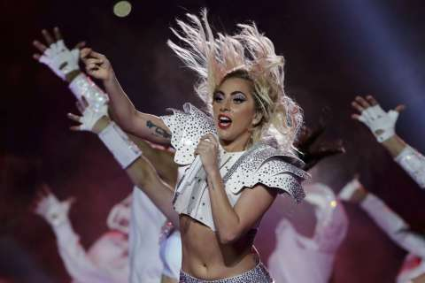 Lady Gaga wows with flashy, inclusive Super Bowl Halftime