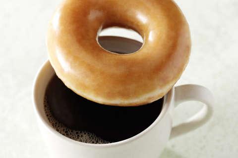 Get a free doughnut with Krispy Kreme's new coffee launch