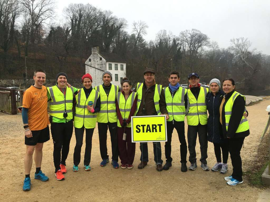 Fletcher's Cove parkrun was started by this group of volunteers in January 2016. The American Cancer Society is partnering with parkrun USA to promote fitness in the fight against cancer. (Courtesy parkrun)