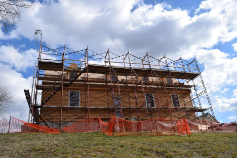 Rebuilding George Washington's childhood in Stafford County