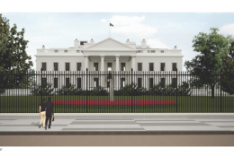 The more than 13 foot fence going in next year at the White House will change the look from the outside. (Courtesy National Capital Planning Commission)
