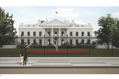 White House getting a bigger, stronger fence