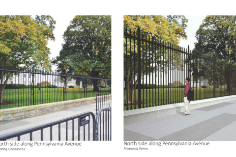 White House fence upgrade to begin this summer