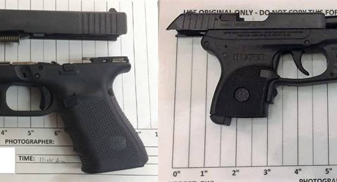 2 caught with guns at BWI, Dulles airports