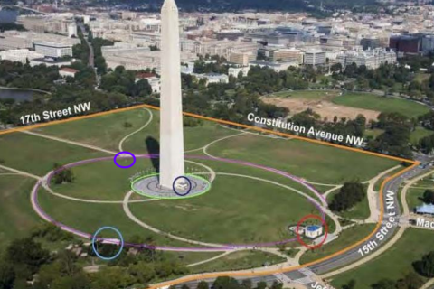 Park service seeks to ban sports from grounds of Washington Monument