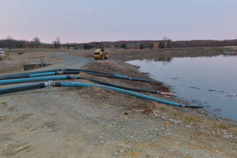 Broken WSSC sewage pipe may take more than a week to fix